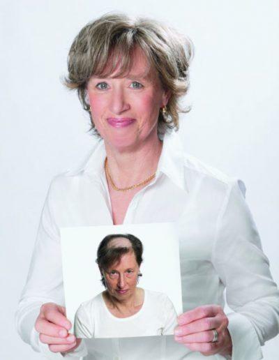 Vorher-Nachher Behandlungsbild, Friseursalon und Schönheitszentrum Straubing