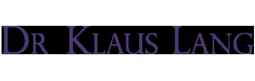 Dr. Klaus Lang logo